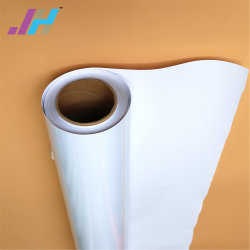 Extérieur en PVC blanc Vinyle auto-adhésif