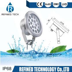 Высокая мощность IP68 красочные RGB LED подводный фонтан в центре внимания зажимное приспособление с помощью прибора Clip