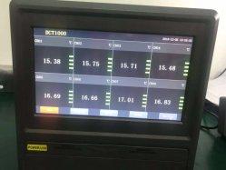 DCT1000-8 регистратор температуры 8 каналов безбумажный регистратор 10 дюйма ЖК-дисплей