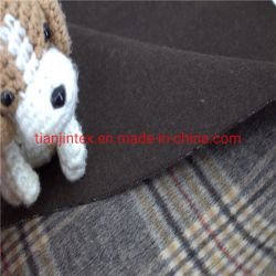 Stof van het Kledingstuk van het Huis van de Stof van de wol de Mengsel Gecontroleerde dubbel-Onder ogen gezien Nylon Textiel