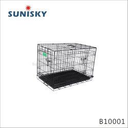 B10001 sur le fil de la Chambre des cages pour animaux de compagnie pour chiens et chats pliable Transporteurs de fer de la Caisse de la cage d'animaux BOARDING KENNELS Lieux pliable