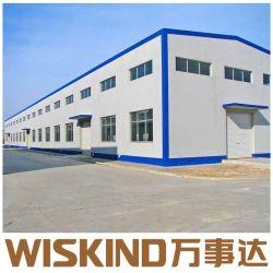 Edificio de acero prefabricados para material de revestimiento con SGS