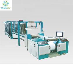 Le gauchissement de la machine pour machine à tricoter Warp Spandex avec 0-600m/min direct du faisceau de fils