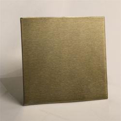 رقم 4 ورق من الفولاذ المقاوم للصدأ 201 304 316 معدن جهاز العرض
