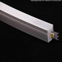 Ap302 Luz de corda de LED Outdoor IP67/PI68 LED Neon de silicone ultra fino flexível 7mm Resisstant UV LED Perfil do tubo flexível para a faixa de LED Luzes Lineares