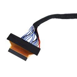 Kabel-eenheid/kabelboom LVDS-kabel voor industriële computerweergave