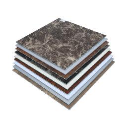 Het houten & Marmeren Samengestelde Comité van de Kern van het Aluminium van de Rang van de Reeks PVDF A1 Vuurvaste voor Binnen of OpenluchtDecoratie