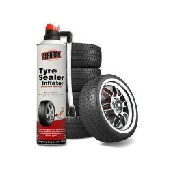 500ml Uso de emergencia fijar un piso de la reparación Pinchazo pinchazo contra el óxido de sellador de reparación de neumáticos neumáticos inflador selladora Spray para moto/COCHE