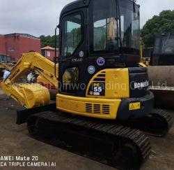 machinerie de construction utilisé japonais Komatsu PC50 PC60 Mini excavatrice chenillée hydraulique 5tonne 6tonne