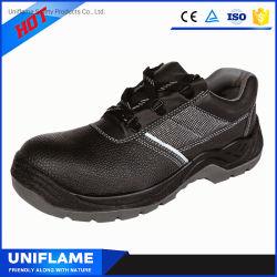 De Schoenen van de Veiligheid van het Leer van de Schoenen van de Veiligheid van de Neus van het Staal van de Fabriek van Gaomi