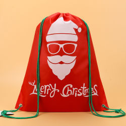 جديد 2019 حمولة ظهريّة وحيد قرن يحتوي تسوق تكّة [3د] يطبع بوليستر حزمة موجية جيب عيد ميلاد المسيح حقائب عيد ميلاد المسيح هبات