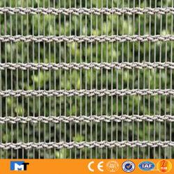 Double tissage de fils en acier inoxydable Wire Mesh Panneaux décoratifs