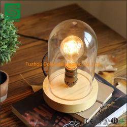 [كلشين] زخرفيّة خشبيّة مصباح [لد] طاولة حامل قفص مصباح لأنّ داخلية