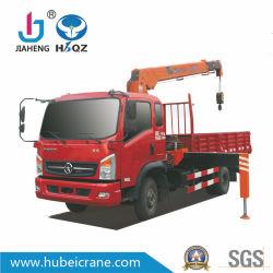 precio de fábrica de 5 toneladas hidráulico Mini SQ5S3 grúa telescópica sobre camión HBQZ Fabricante de maquinaria de construcción