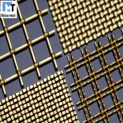알루미늄 구리 브론즈 건축 와이어 천