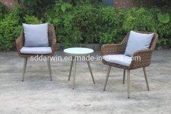 옥외 가구 Gargen 안뜰 발코니 고정되는 대나무 의자 등나무 테이블