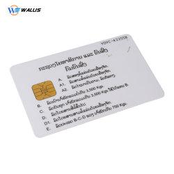 Carte à puce en PVC pour l'adhésion de la carte cadeau/carte/carte prépayée/ATM Card/carte à bande magnétique