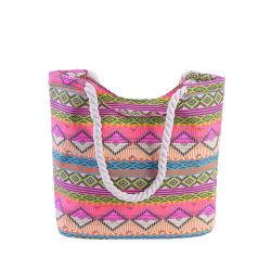 Promotion de la mode à bon marché Mesdames voyages estivaux Shopping Tote sac de plage