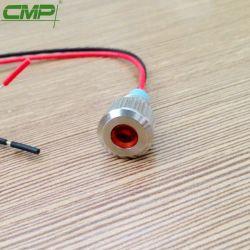 Водонепроницаемый светодиодный CMP металлические сигнальной лампы на панели управления загорается сигнальная лампа 8 мм с проводом
