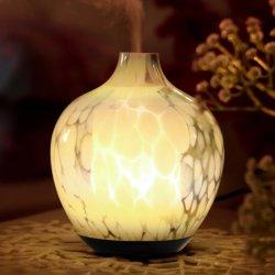 120ml si dirigono il diffusore di vetro dell'aroma della foschia dell'olio essenziale dell'umidificatore freddo ultrasonico dell'aria, umidificatore elettrico dell'aria del diffusore dell'olio essenziale dell'aroma per il commercio all'ingrosso