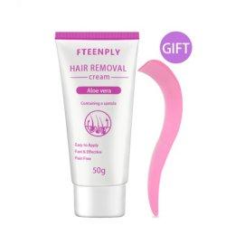 Quita la crema de Depilación de axilas y piernas cabello cuidados del cuerpo