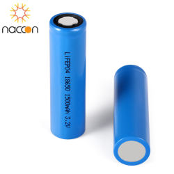 Li-Ionen 18650 3.7V 1500mAh Navulbare Batterij van de fabriek de direct