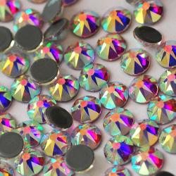 Calore di vetro tagliato Transfer&#160 di sfaccettature del Rhinestone 16 del cristallo ab Hotfix di qualità di Kingswick 2088 i migliori; Rhinestones