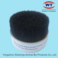 La fábrica de Venta caliente negro mezclado de cerdas hervida