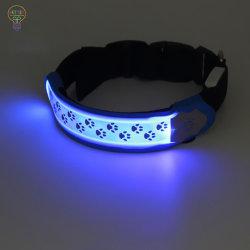 Collier pour chien de LED LED Bandage Pet pour la sécurité de nuit