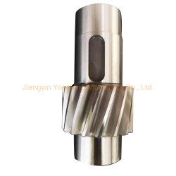 Forjado personalizadas de mecanizado CNC Eje de acero inoxidable pulido