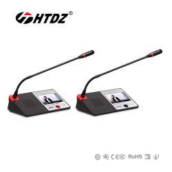 As-9100 Tela Sensível ao Toque da Série Ht Digital Audio e Vídeo do Sistema de Conferência Microfone com Fio