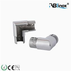 En acier inoxydable AISI304 316 coude du tube rainuré Hand-Polish mirror/surface de la Tache