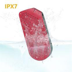 10W étanche IPX7 Haut-parleur sans fil Bluetooth® stéréo Bass de plein air en métal avec la carte de TF