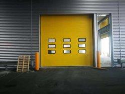 산업 강철에 의하여 격리되는 창고 공장 선착장 선적 만 열 격리된 자동화된 머리 위 부분적인 차고 자동적인 안전 문