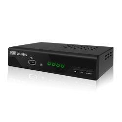 이더네트를 가진 U005 DVBT2 Hevc H. 265 HD STB는 이탈리아를 위해 출력했다
