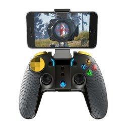 Het draadloze Controlemechanisme Joypad van het Gokken van het Controlemechanisme van het Spel Bluetooth met de Regelbare Houder van de Klem