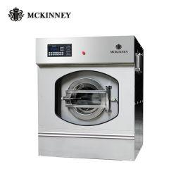 15 de Voorzijde die van de Capaciteit van kg-100 Kg de Commerciële Apparatuur van de Was van de Wasmachine Industriële laden