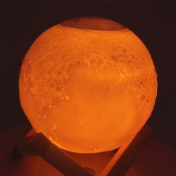 880ml Humidificador Iluminación colorida noche de luz LED de luz de luna