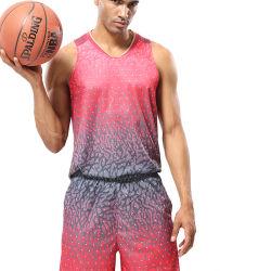 fait sur mesure uniforme de basket-ball d'athlétisme de l'impression Tee-shirt de basket-ball