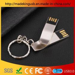 Design personalizado de alta qualidade a unidade flash USB metálica Pen Drive