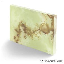 Onyx vert pierre polie Transtones Prix pour la décoration intérieure