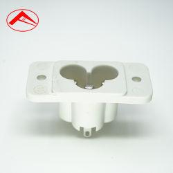Connettore dello zoccolo di corrente alternata dello zoccolo della spina di alta qualità dei 3 perni