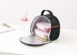 Повседневный обед Bag портативный водонепроницаемый изолированный питание при выполнении больших холодной Canvas для пикников и футляры случае дети женщин тепловой в салоне