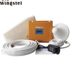 Inalámbrica Wingstel triband GSM 2G 3G LTE 4G Celular celular Amplificador de señal WiFi móvil repetidor de la señal para el hogar