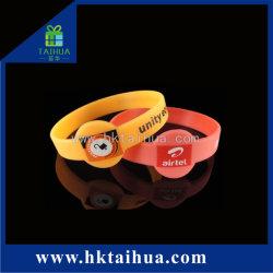 سوار معصم ذو شكل خاص مع شعار Silicone Bracelet خاص