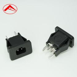 Хорошее качество звука и 3 контакта черного цвета Разъем питания на входе AC 250 В 10 А розетка переменного тока