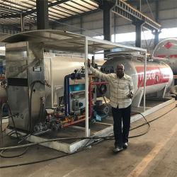 10 metros cúbicos de gás de gás propano Tanque de carga de reabastecimento de combustível GPL estação para venda