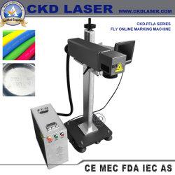 Laser on-line de codificação para marcação de marcar o Código QR