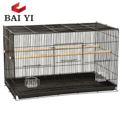 Gabbie del nastro metallico grandi e grandi di uccello della gabbia del pappagallo da vendere il fornitore