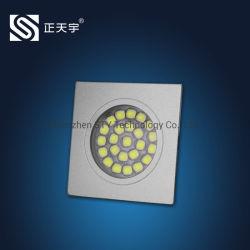 Алюминиевые квадратные светодиодные 12 В постоянного тока для акцентного освещения для мебели/Кабинет/шкаф/счетчик